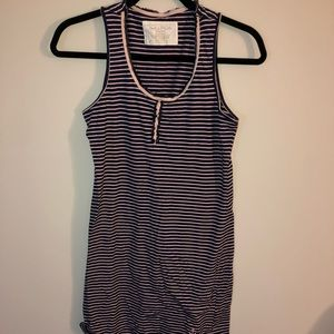 Nautical Striped Sleep Dress